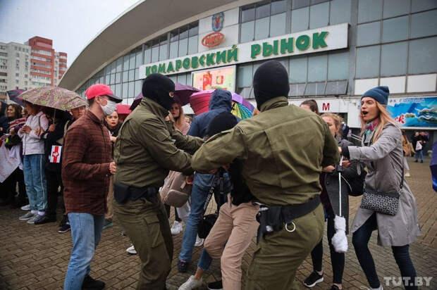Митинг в поддержку Колесниковой в Минске