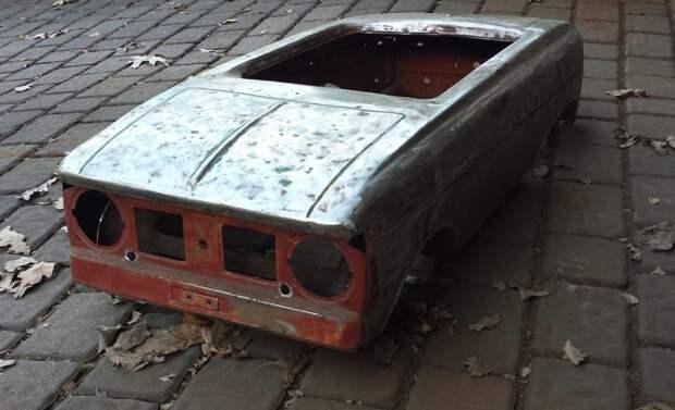 Реставрация педального Москвича 1970-х годов
