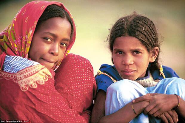 Африканский народ туареги, у которых царит матриархат