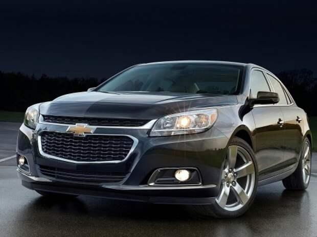 Новый седан Chevrolet Malibu дебютирует в Нью-Йорке