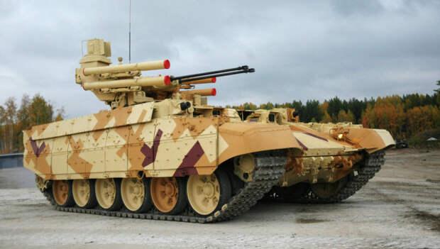 Российские боевые роботы оснастят «прозрачной броней» «Параллакс»