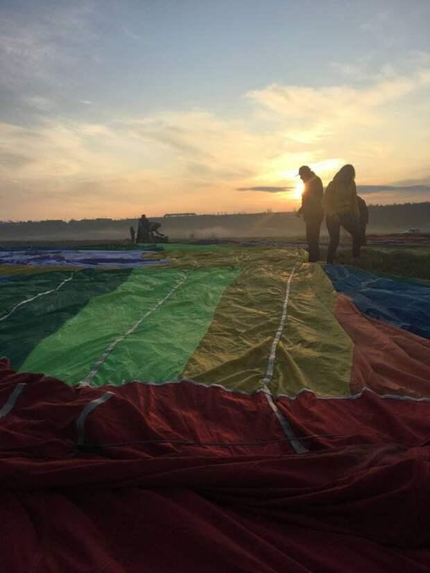 В Белогорске прошли соревнования на воздушных шарах. ФОТО