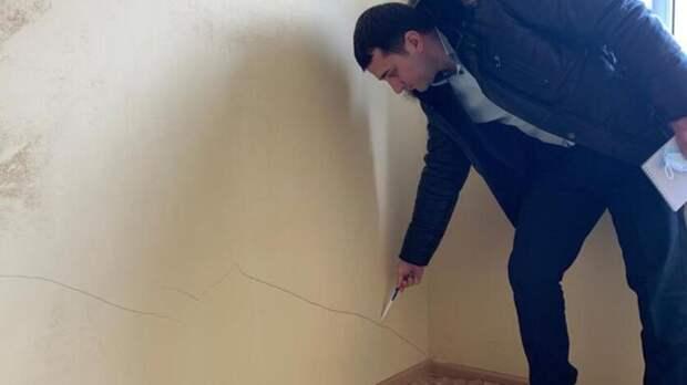 СКначал проверку из-за выданных сиротам вдонском поселке квартир сплесенью