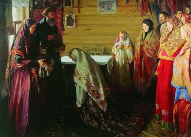 Перед свадьбой у невесты выпытывали, как она себя вела. /Фото: cdn.sm-news.ru