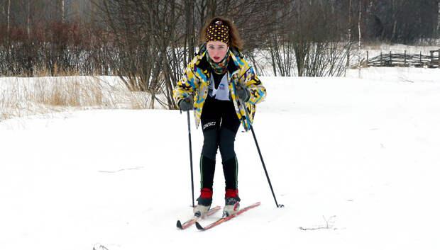 Более 500 школьников Подольска приняли участие в соревнованиях по лыжным гонкам