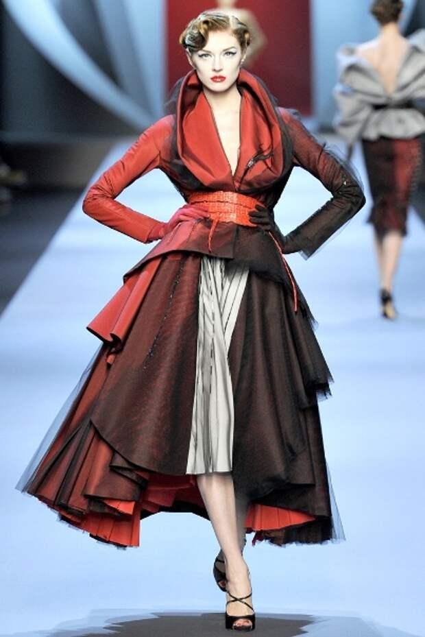 Процесс создания пальто Houte Couture
