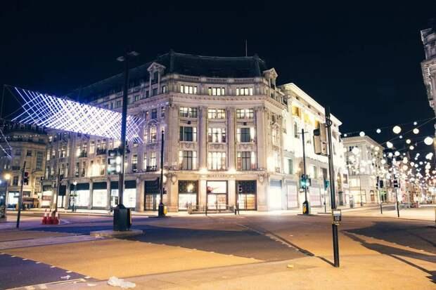 Опустевший Лондон на снимках французского фотографа