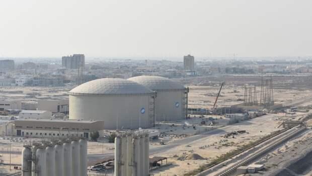 Завод по опреснению воды в Саудовской Аравии
