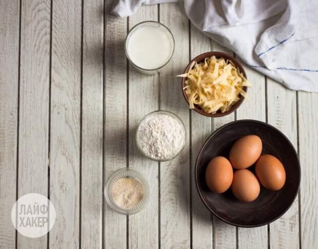 Готовим омлет: ингредиенты