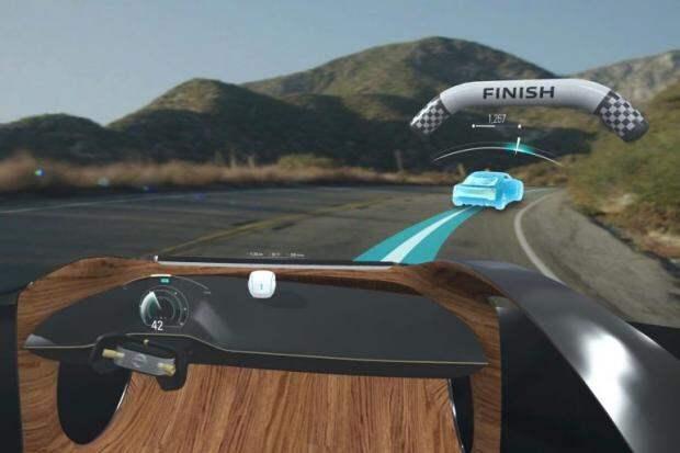 Nissan презентовал футуристическую систему способную видеть больше чем может водитель