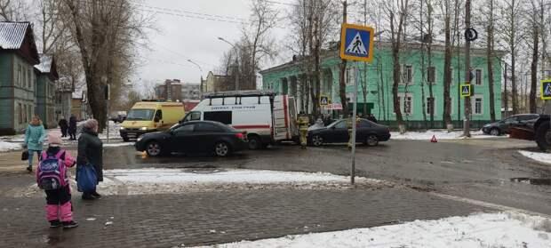 ДТП на улице Торцева