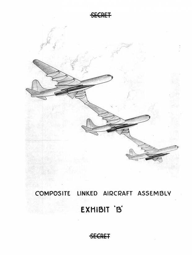 Проект дальнего бомбардировщика Convair GEBO (США)