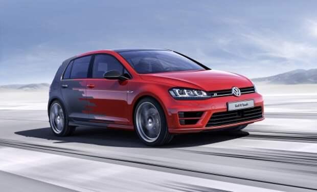 Концепт Volkswagen Golf R Touch
