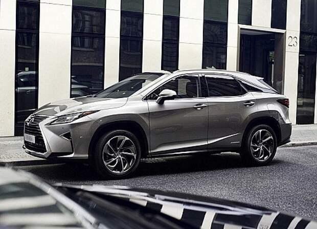 Цены на Lexus RX: за гранью роскоши
