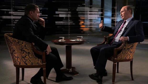 Новый документальный фильм Соловьёва с Путиным