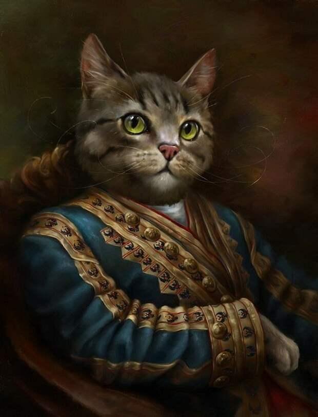 Знатные Коты.