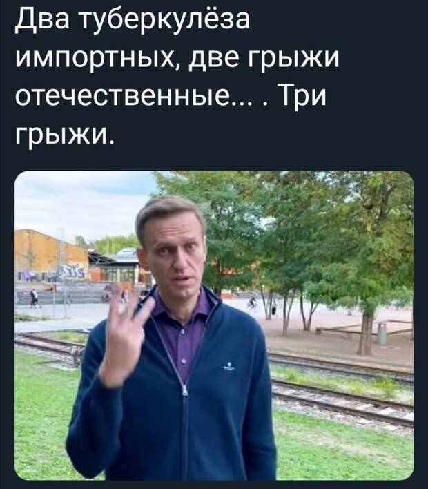 Навальный как граф Монте-Кристо из Покрова