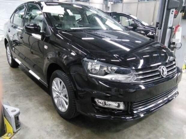 Обновленный VW Polo седан