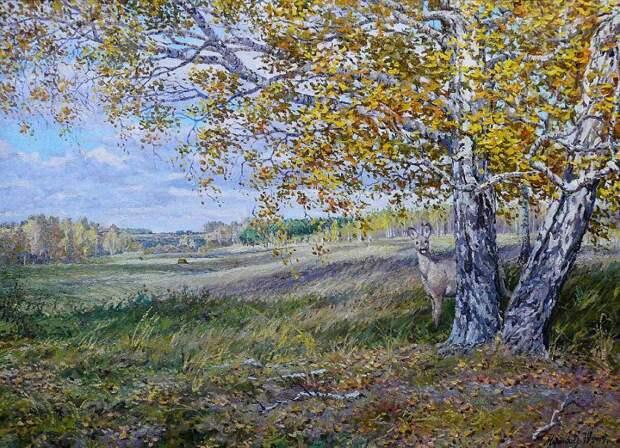 Уральские пейзажи художника Юрия Мартюшева