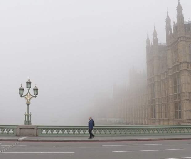 Туманный Альбион: чарующие виды Лондона, окутанного туманной дымкой
