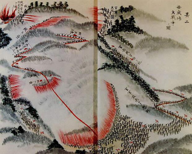 Битва за перевал Бонари jacar.go.jp - Кровавые вехи войны Босин   Военно-исторический портал Warspot.ru