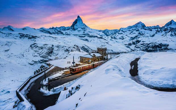 19 удивительно красивых зимних пейзажей из разных уголков планеты