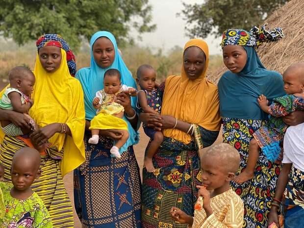 Семья Мухаммеда — все его четыре жены и дети
