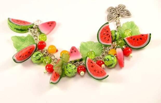 Фрукты и ягоды из полимерной глины: идеи и мастер-классы