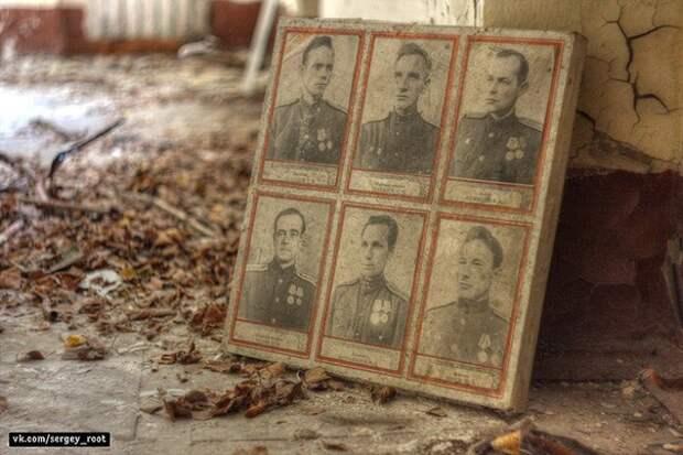 Заброшенная войсковая часть в Ленинградской области.