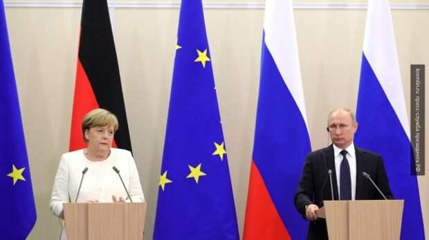 Михеев и Тимошенкова: «Путин показал Меркель её место»
