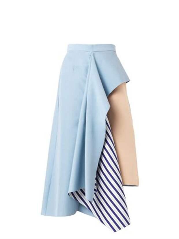Ассиметричные юбки прошлого сезона