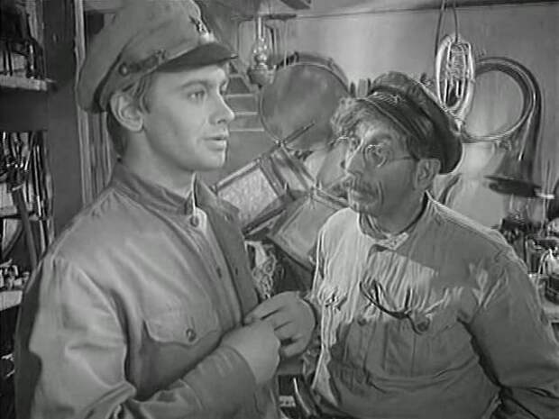 начхоз - Сотрудник ЧК (1963)