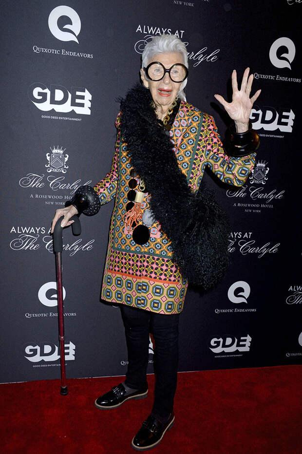 Как выглядит и что носит самая модная 100-летняя старушка в мире
