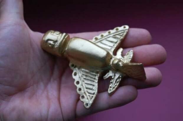 Золотые фигурки инков артефакты, древность, загадка, интересное, история, находка