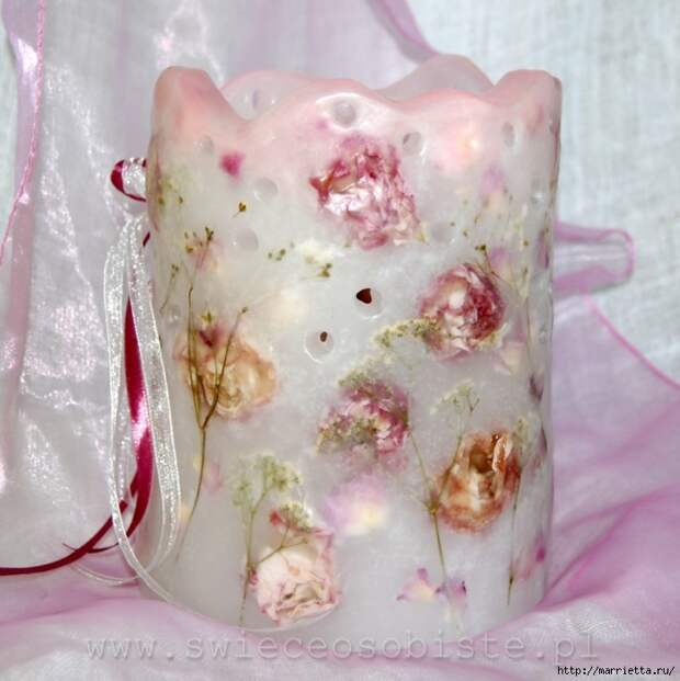 цветочные свечи ручной работы (47) (698x700, 293Kb)