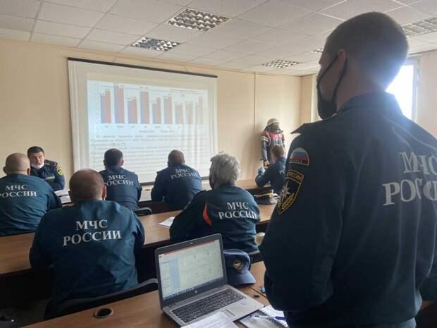 Для МЧС ЮВАО провели занятия по повышению оперативного мастерства