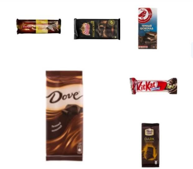 От такого шоколада точно не слипнется