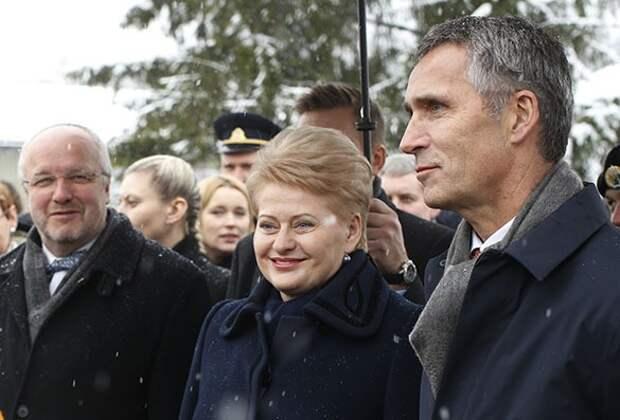 Президента Литвы Далю Грибаускайте внесли в список агентов КГБ