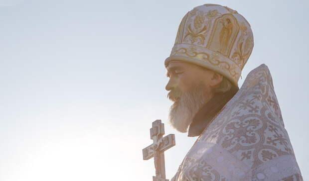 Епископ Алексий поздравил жителей Нижнего Тагила срождеством