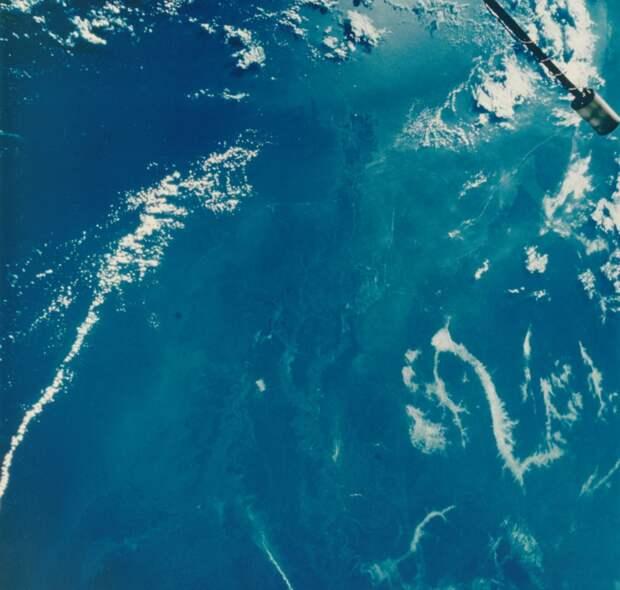 1966. «Джемини-12». Вид на остров Куба из космоса