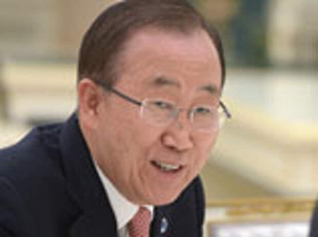 Пан Ги Мун назвал большой честью для себя присутствие на праздновании 70-летия Победы в Москве
