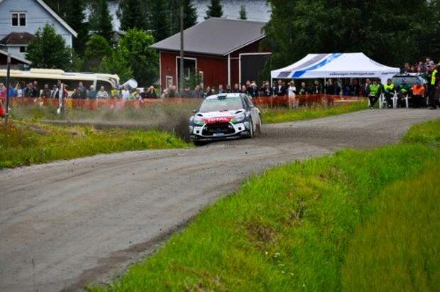 Противостояние в WRC: утешительный заезд