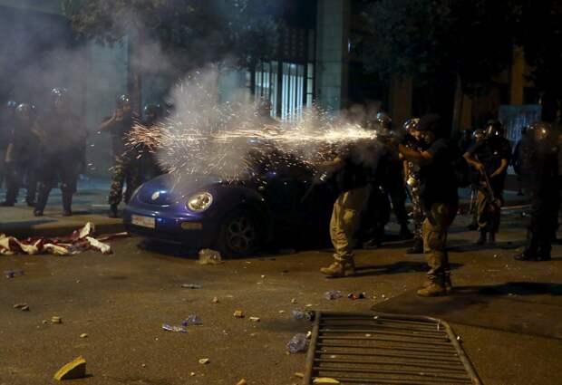 Демонстрации в Ливане