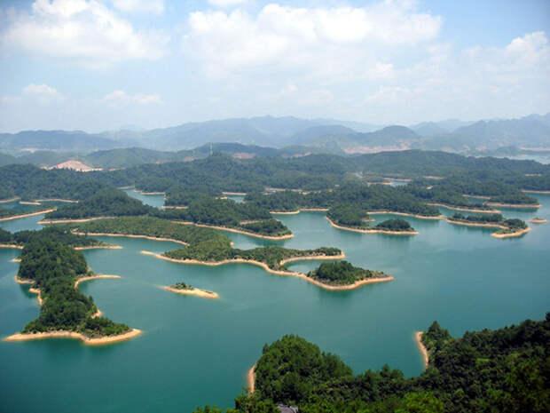 Озеро Тысячи островов.