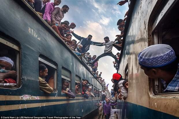 Переполненные поезда