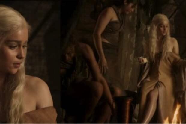 Эротические съемки звезды «Игры престолов» проходили без дублерши