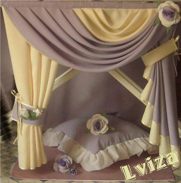 УЮТ В ДОМЕ. Романтичные шторы Оксаны Клаус (Lviza)