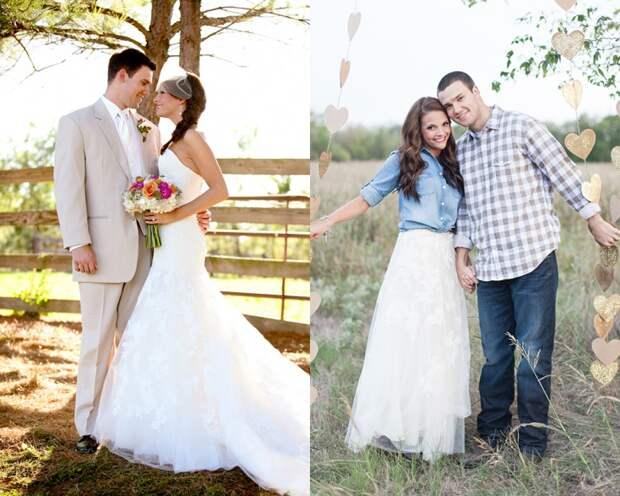 33 идеи как перешить свадебное платье (трафик)