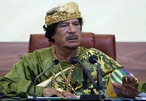 Каддафи слишком много знал: он в 2009 году рассказал секрет о биологической войне ковидом