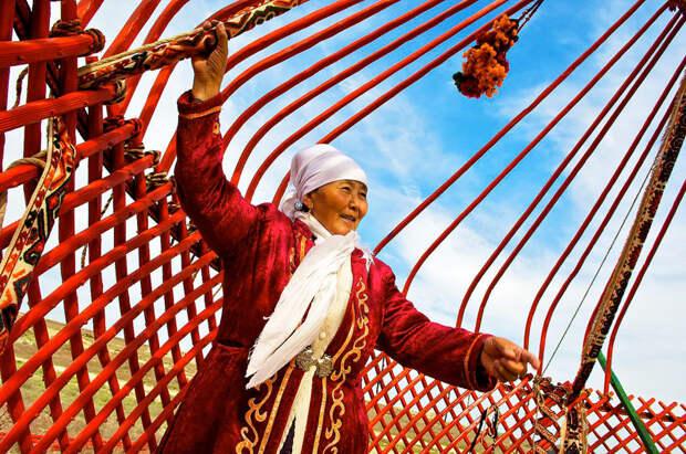 Шедевр мировой цивилизации - казахская юрта